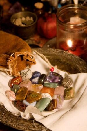 runas distintos minerales