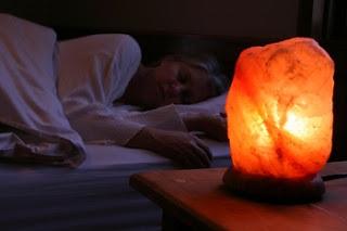 propiedades lampara de sal