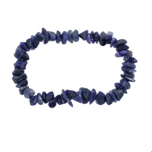 Pulsera Mineral Lapislázuli