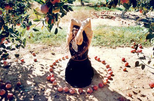 circulo de manzanas mabon