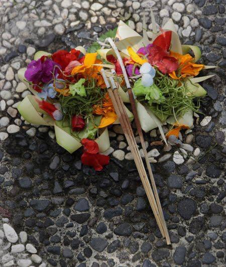 buenos días desde Bali