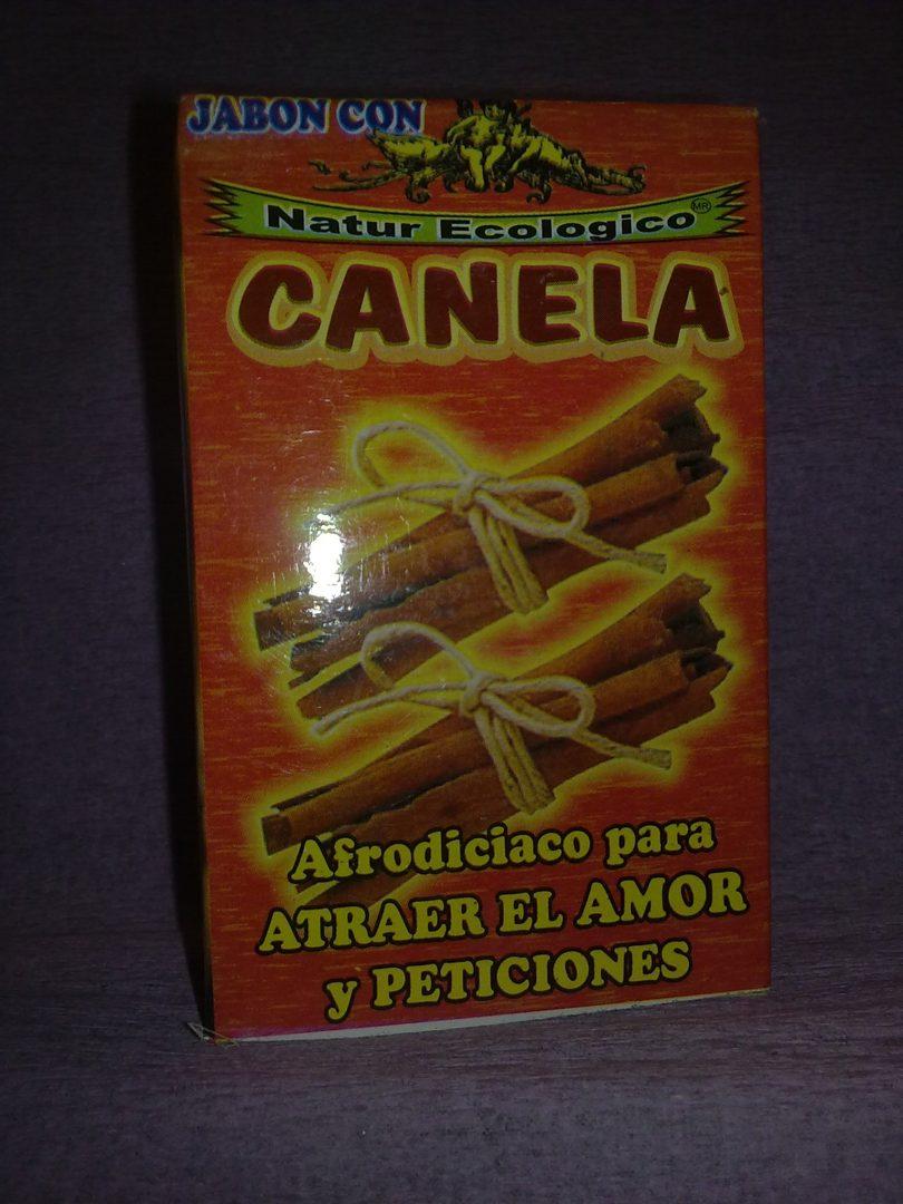 Jabon de Canela