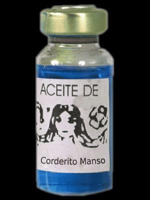 ACEITE CORDERITO MANSO