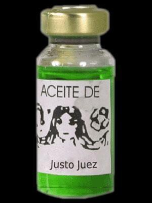 ACEITE JUSTO JUEZ